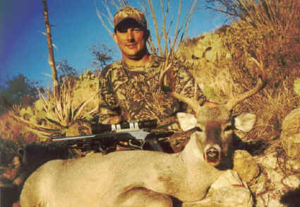 Anthony Ransom took this buck at 276 yards with a pistol!