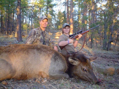 arizona cow elk