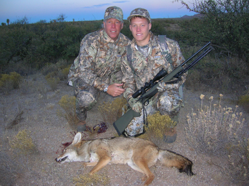 arizona varmint hunting coyote
