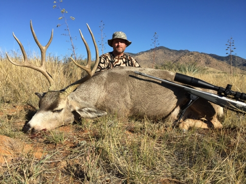 arizona mule deer hunt guides hunting
