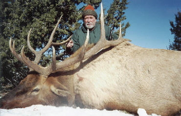 Arizona Elk Hunting Client - November 2000