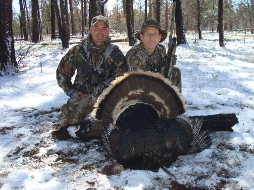 Merriams turkey hunting in new mexico