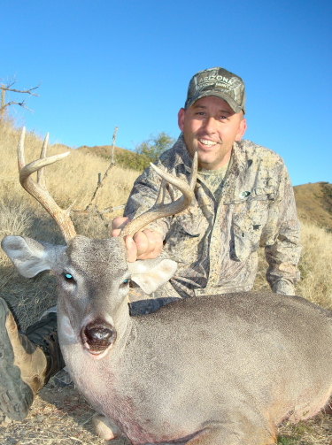 rifle hunting for coues deer in arizona