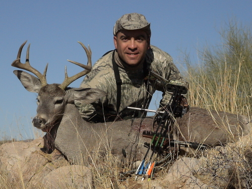 archery hunting for coues deer
